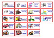 English Worksheets: Transportation Bingo ( 2 of 3 )