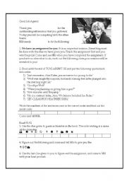 English Worksheets: Stormbeaker Mission