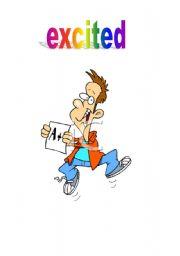 English Worksheets: expression feeling