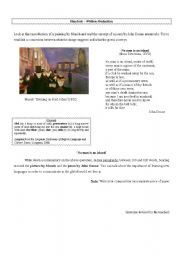 English Worksheets: Written Production