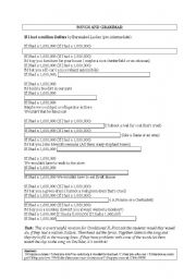 English Worksheet:  f I had a million Dollars by Barenaked Ladies // Using songs to teach Conditional II