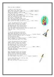 English Worksheets: VIVA LA VIDA