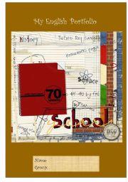 portfolio cover page