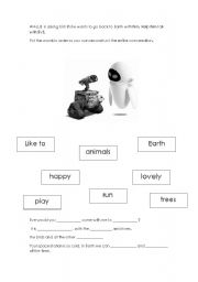 English Worksheets: HELP Wall.e
