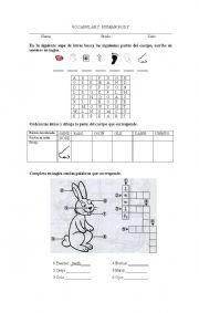 English Worksheets: body_parts_simple
