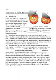 Printables Halloween Worksheets For Middle School english worksheet halloween in north america