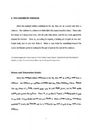 English Worksheets: accent and diction