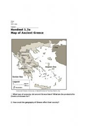 ancient greece map worksheet worksheets releaseboard free printable worksheets and activities. Black Bedroom Furniture Sets. Home Design Ideas