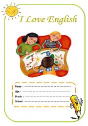 English Worksheets: Cover Page 2