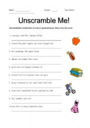 Unscramble Me!