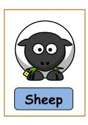 English Worksheets: Animals big flashcards PART 1 (15.08.08)