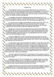 English Worksheets: DOUGLAS CRAIG