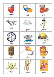 The alphabet  2/5 (Bingo)