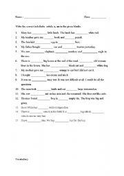 English worksheets: the Articles worksheets, page 169