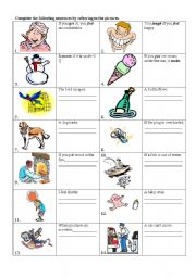 English Worksheet: Conditionals Type 0