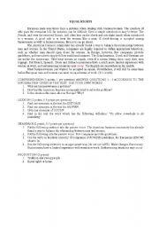 English Worksheets: Equal rights