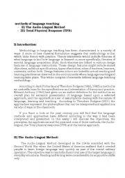 English Worksheets: methods of language teaching