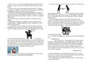 English Worksheets: Ransom of Red Chief with Pictures
