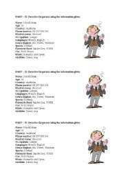 English Worksheets: characterisation
