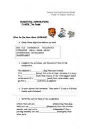 English Worksheets: What Do You Know About Animals?