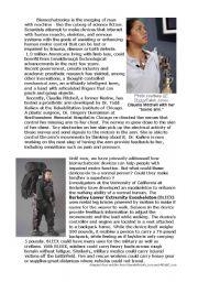 English Worksheets: Bionic World