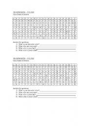 English Worksheet: Colors - CROSSWORDS