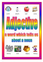 Adjective Poster 3rd of 4