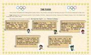 English worksheet: The Fuwa (complete worksheet)