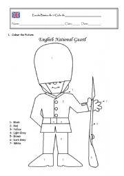 Engçish Royal Guard