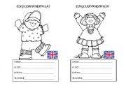 English Worksheets: English Portfolio ID