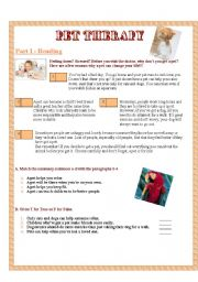 English Worksheets: 4 SKILLS - All about pets and animal rights (Part 1)