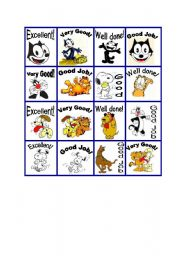 English Worksheets: Rewards cats and dogs