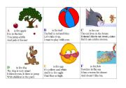English Worksheet: Alphabet Poems