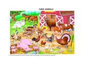 English Worksheets: FARM ANIMALS - MEMORY