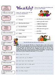 English Worksheets: Who is Lily?
