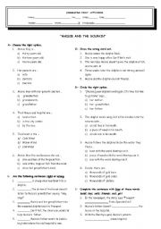 English Worksheets: MAISIE AND THE DOLHIN WORKSHEET