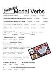 modal verbs exercises - ESL worksheet by Lihgf