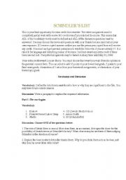 Essay questions on schindler list