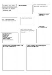 English Worksheets: Global events