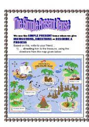 English Worksheet: The Simple Present Tense