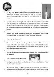 Reading Comprehension - Apollo 13