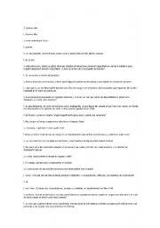 english worksheets spanish english dialogue. Black Bedroom Furniture Sets. Home Design Ideas