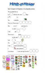 English Worksheets: Hands-on Worksheet