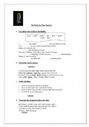 English Worksheets: Song-