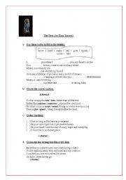 English Worksheet: Song-