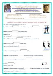 English Worksheets: Catch me if you can - Film trailer - watch, coplete, discuss - with video link.