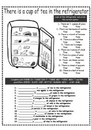 English Worksheets: THERE IS/ARE AND QUANTIFIERS