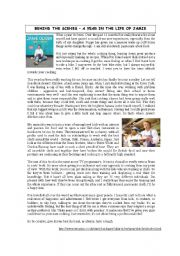 English Worksheet: A YEAR IN THE LIFE OF JAMIE OLIVER (3 pages)