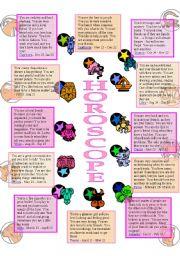 HOROSCOPE 1of2 (the reading )