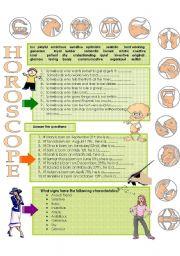 HOROSCOPE 2 of 2 (practice)